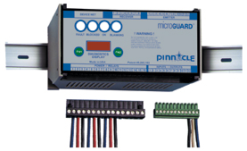Pinnacle-microguard_safety_light_curtain_dinrail_mountable_safety_relay_controller_module